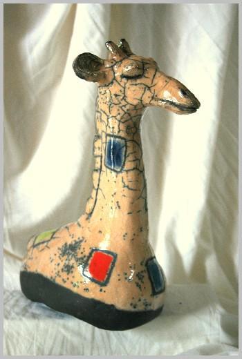 Girafe Raku Dominique