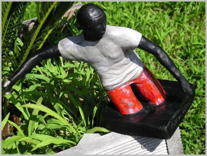 Sculpture Raku Sandrine