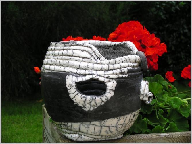 vase raku nature et réserves